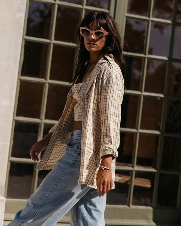 0 Safari Check Blazer Jacket - Blazer pour Femme Multicouleurs W3JK10BIP1 Billabong