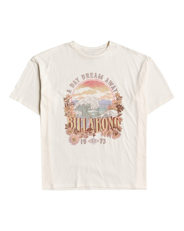 0 Dreamy Day - Oversized T-Shirt for Women Blanco W3SS36BIP1 Billabong