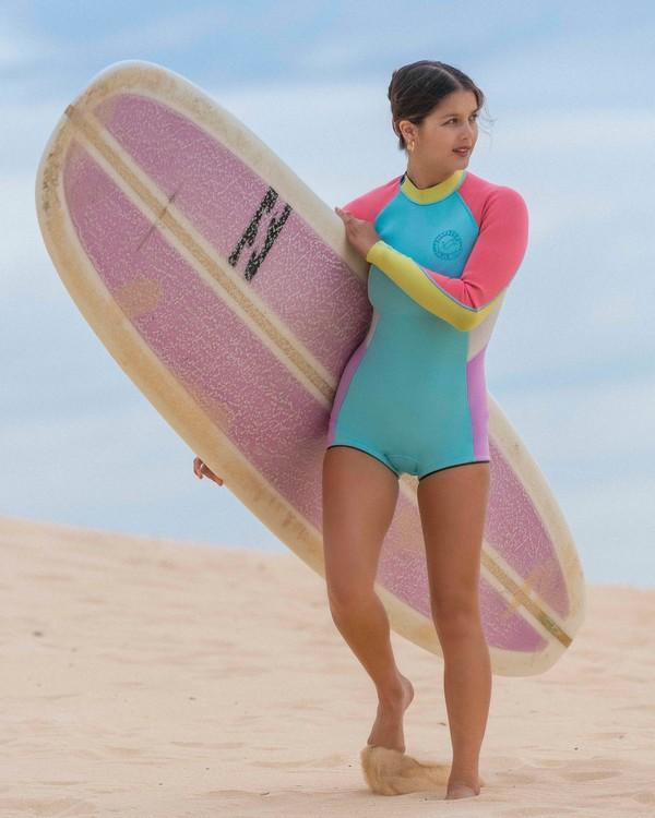 0 Surf Capsule Spring Fever - Long Sleeve Springsuit for Women  W42G54BIP1 Billabong