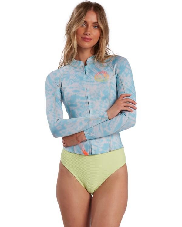 0 Surf Capsule Peeky - Chaquetilla para Surf para Mujer Azul W42G56BIP1 Billabong