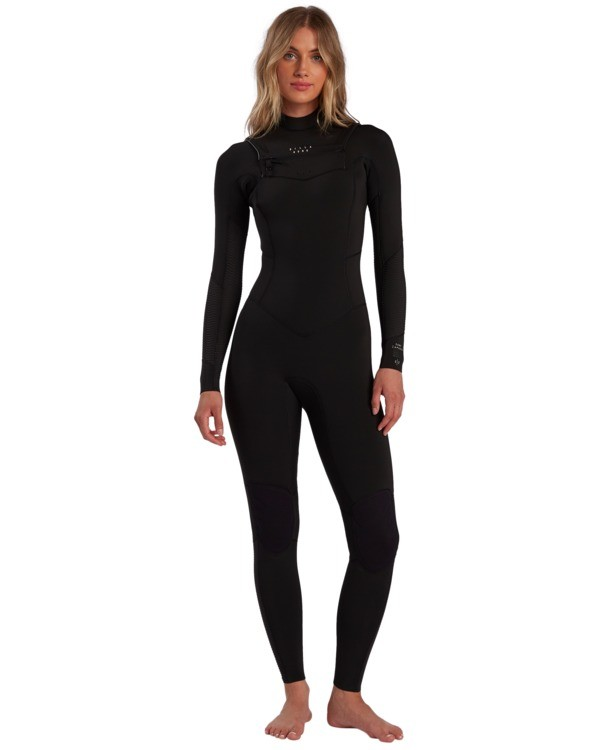 0 Salty Dayz - Traje de surf con cremallera frontal 3/2mm para Mujer Negro W43G50BIP1 Billabong