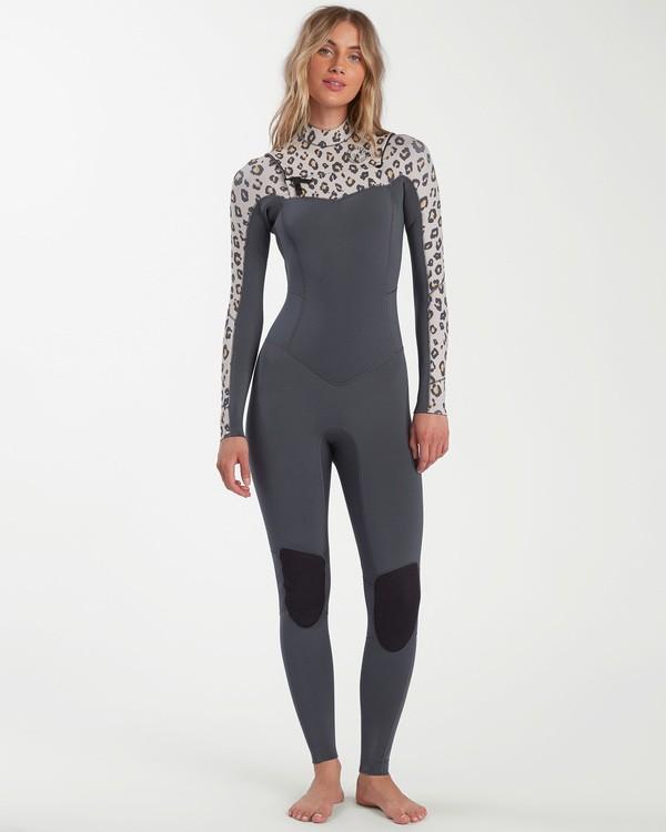 0 Salty Dayz - 4/3mm Chest Zip Wetsuit for Women  W44G50BIP1 Billabong
