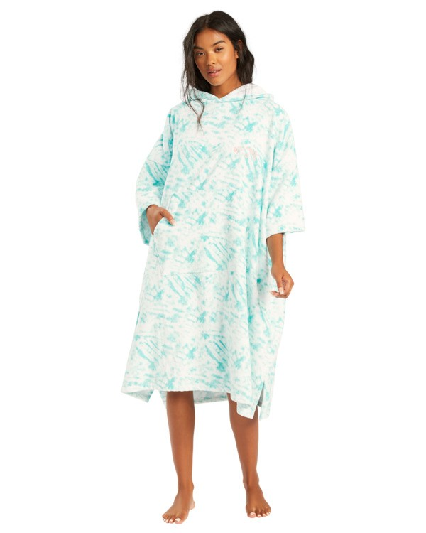 0 Hoodie - Poncho para surf para Mujer Azul W4BR70BIP1 Billabong