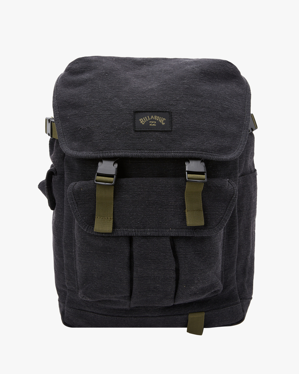 0 Adventure Division Kings Hemp 27L - Large Backpack for Men Black W5BP16BIS1 Billabong