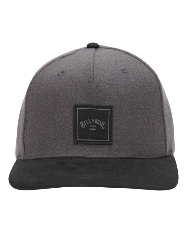 0 Stacked Up - Casquette snapback pour Homme Gris W5CM09BIP1 Billabong