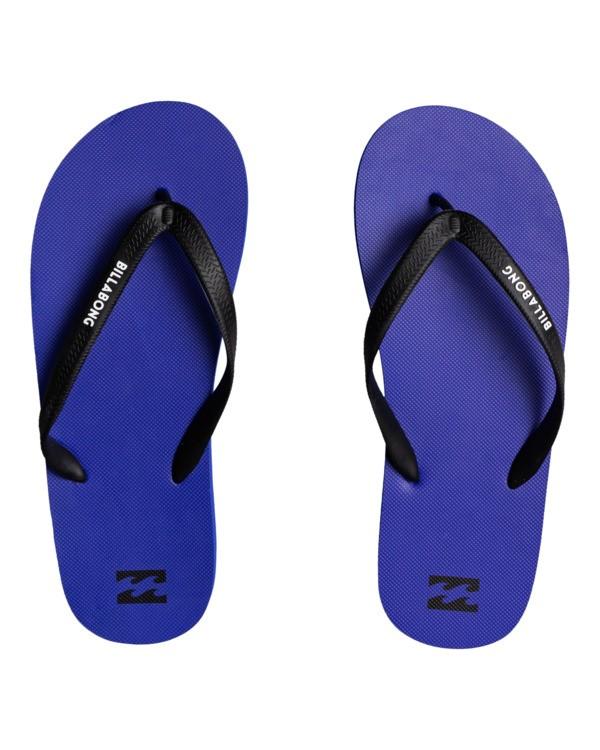 0 Tides Solid - Flip Flops for Men Blue W5FF22BIP1 Billabong