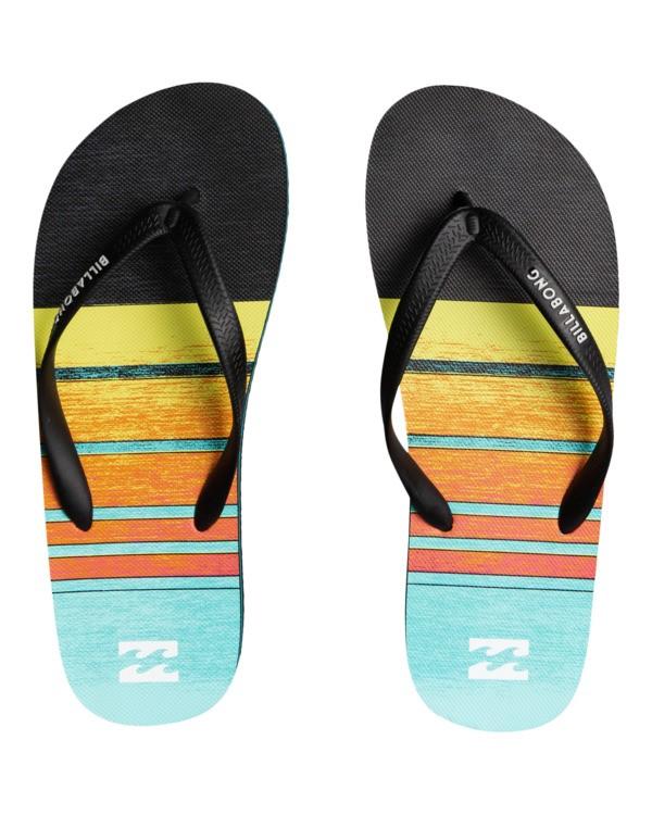 0 Tides 73 Stripe - Flip Flops for Men Blue W5FF23BIP1 Billabong