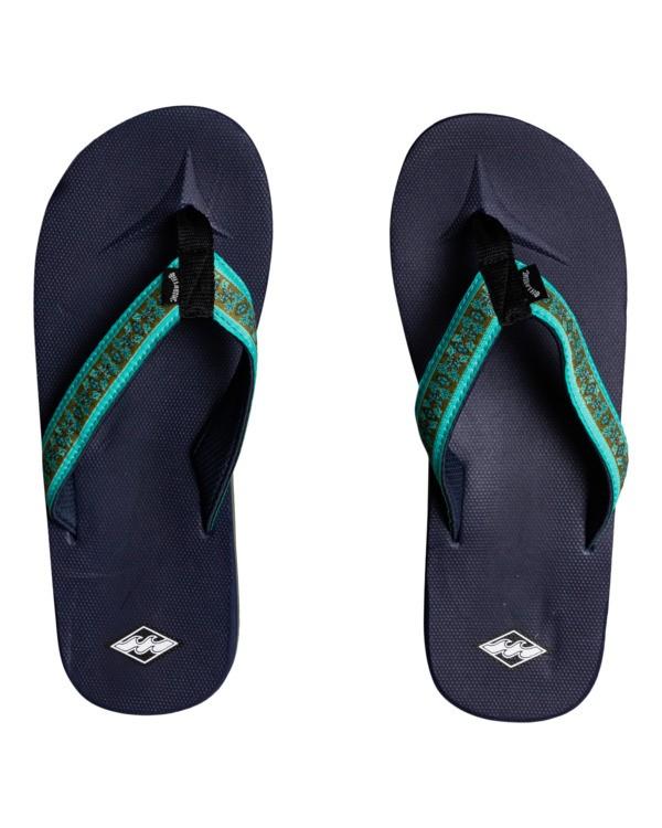 0 All Day Impact - Sandals for Men Blue W5FF32BIP1 Billabong