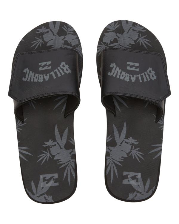0 All Day Impact Slide - Sandals for Men Black W5FF33BIP1 Billabong