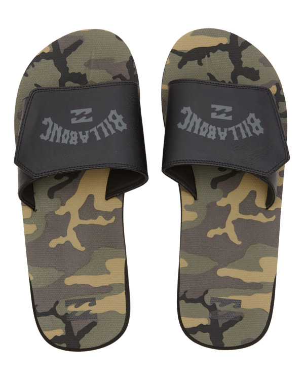 0 All Day Impact Slide - Sandals for Men Camo W5FF33BIP1 Billabong