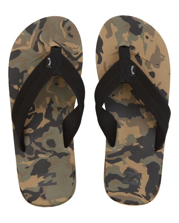 0 All Day Impact Texture - Sandals for Men Camo W5FF34BIP1 Billabong
