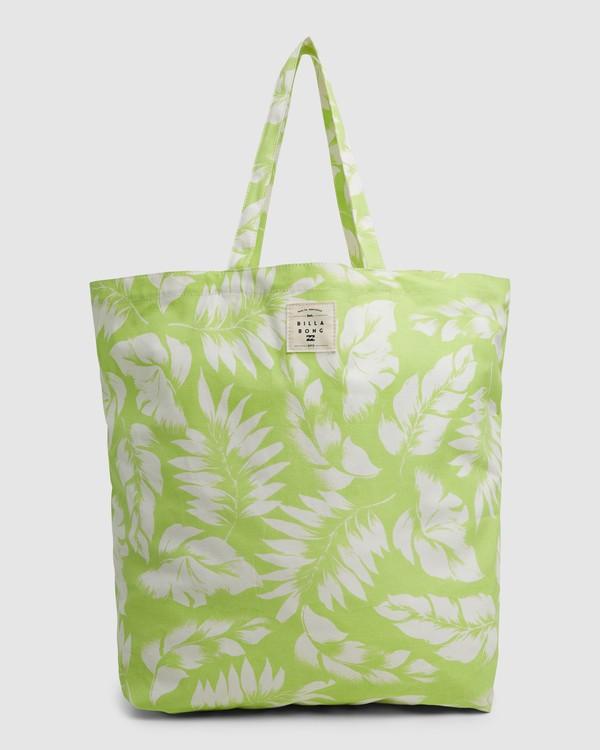 0 Summer Fun - Bolsa de tela para Mujer Verde W9BG50BIP1 Billabong