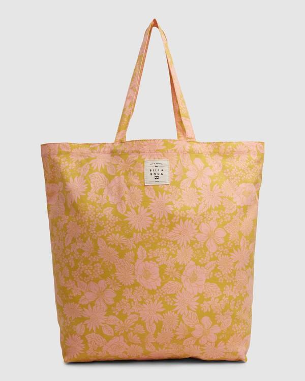 0 Summer Fun - Bolsa de tela para Mujer Naranja W9BG50BIP1 Billabong
