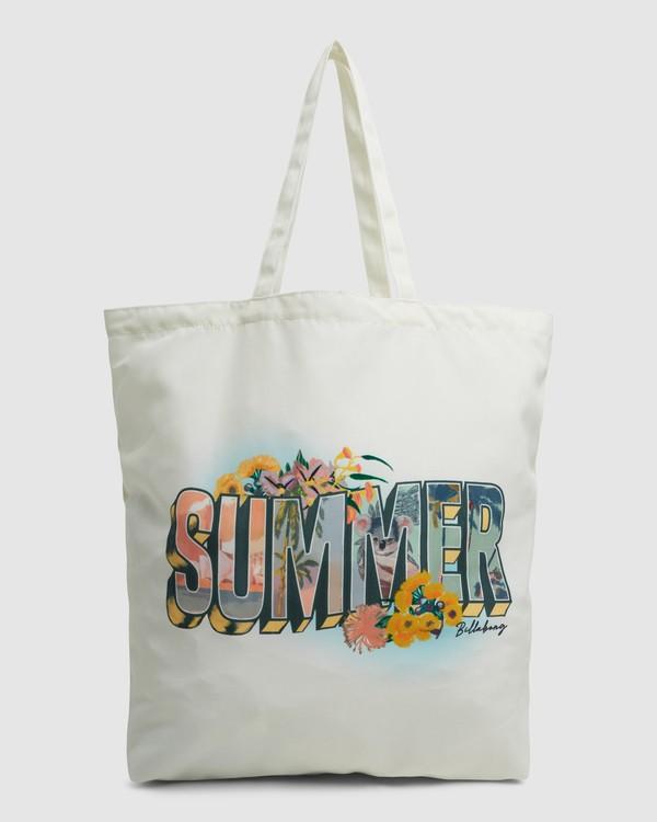 0 Summer Fun - Tote bag pour Femme Blanc W9BG50BIP1 Billabong