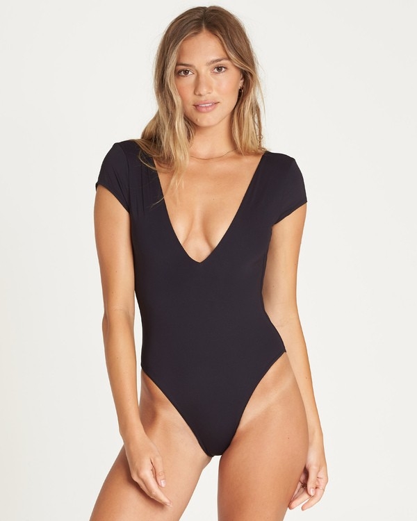 0 Sol Searcher One Piece Swim Black X103UBSO Billabong