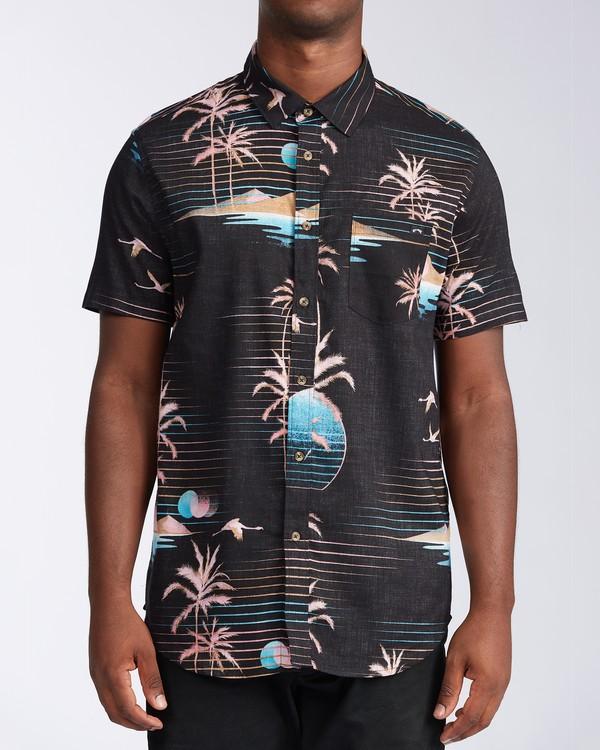 0 Sundays Floral - Short Sleeve Top for Men Black X1SH01BIS1 Billabong