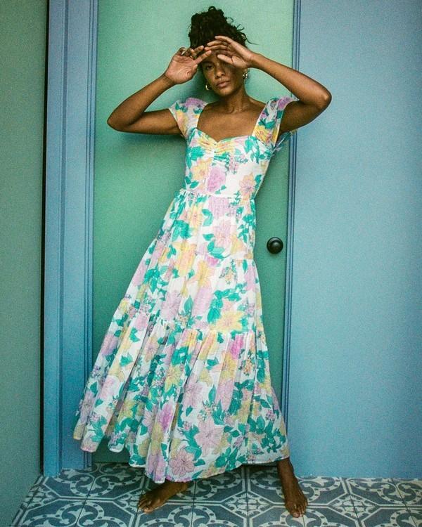 0 Sunrise - Vestido largo para Mujer Blanco X3DR09BIS1 Billabong
