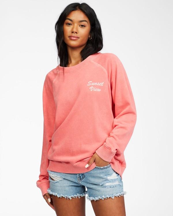 0 Salt And Sand - Sweatshirt for Women Pink X3FL20BIS1 Billabong