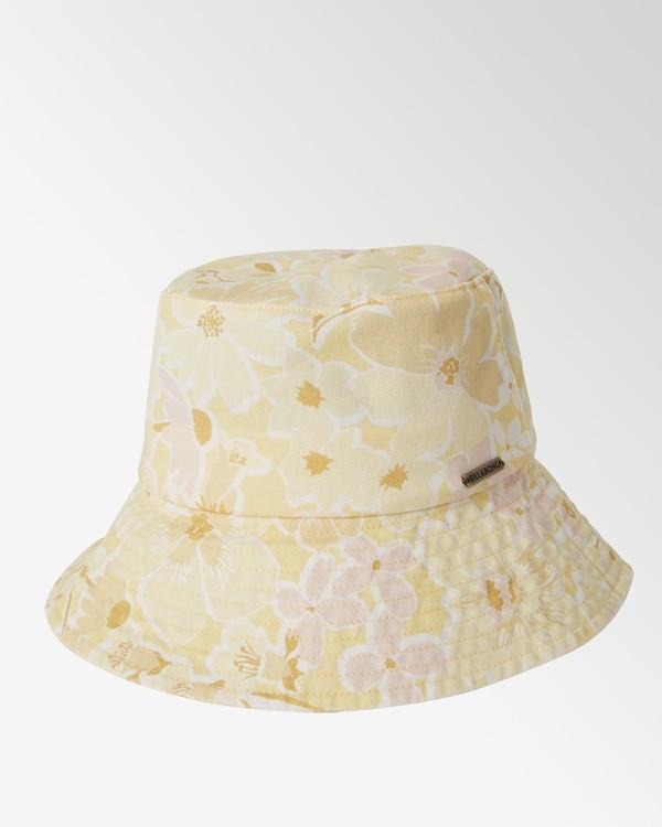 0 Still Single - Gorro de Pescador para Mujer Amarillo X9HT01BIS1 Billabong