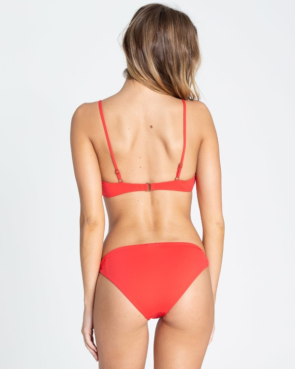 0 Sol Searcher Lowrider Bikini Bottom Red XB01TBSO Billabong