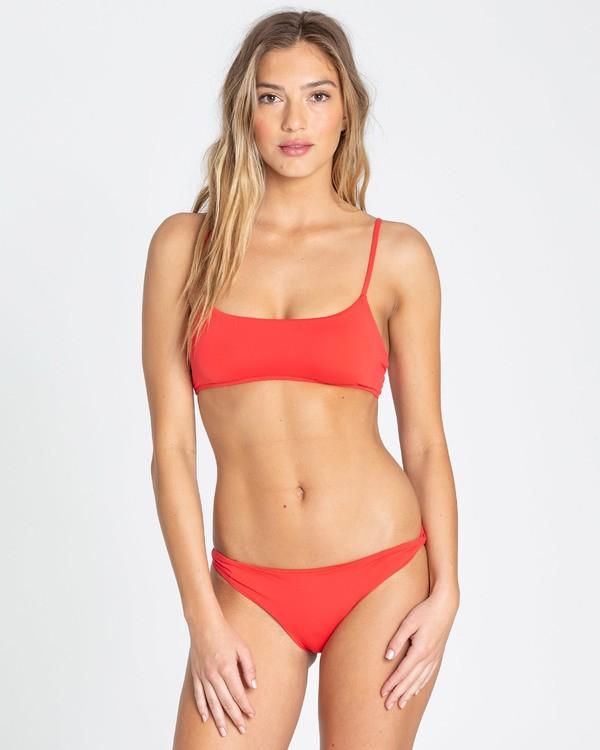 0 Sol Searcher Lowrider Bikini Bottom Red XB01TBSO Billabong