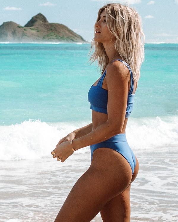 0 Sol Searcher Maui Rider Bikini Bottom Blue XB01UBSO Billabong