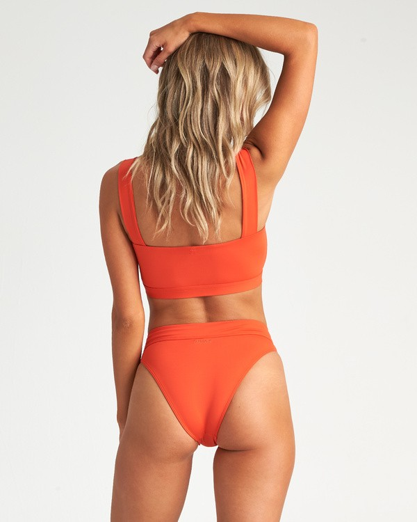 0 Sol Searcher Maui Rider Bikini Bottom Orange XB01UBSO Billabong
