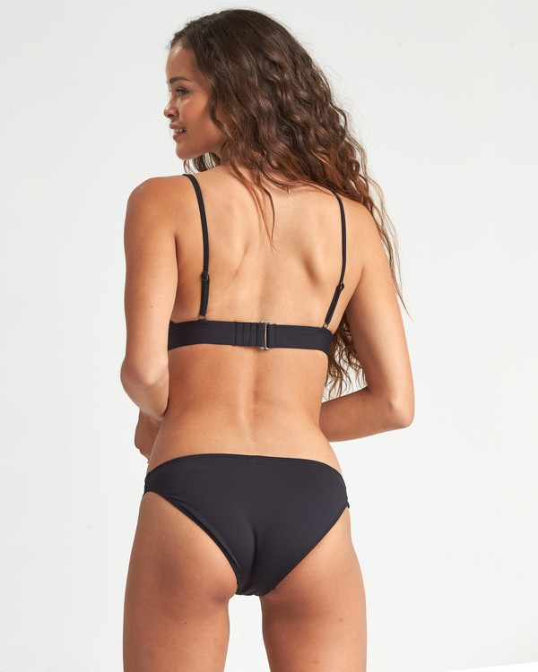0 Sol Searcher Lowrider Bikini Bottom Black XB021BSO Billabong