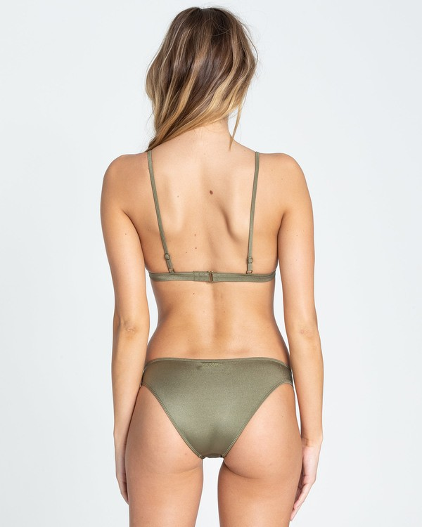 0 Sol Searcher Tropic Bikini Bottom Green XB02TBSO Billabong