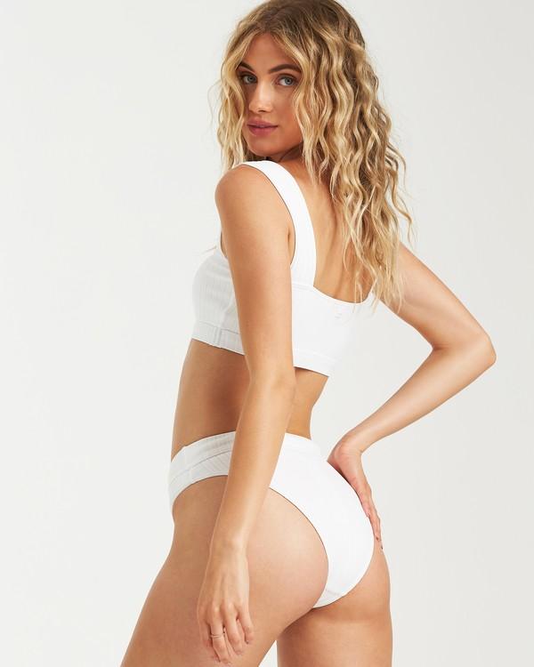 0 Sunny Rib Maui Rider Bikini Bottom White XB09UBSU Billabong