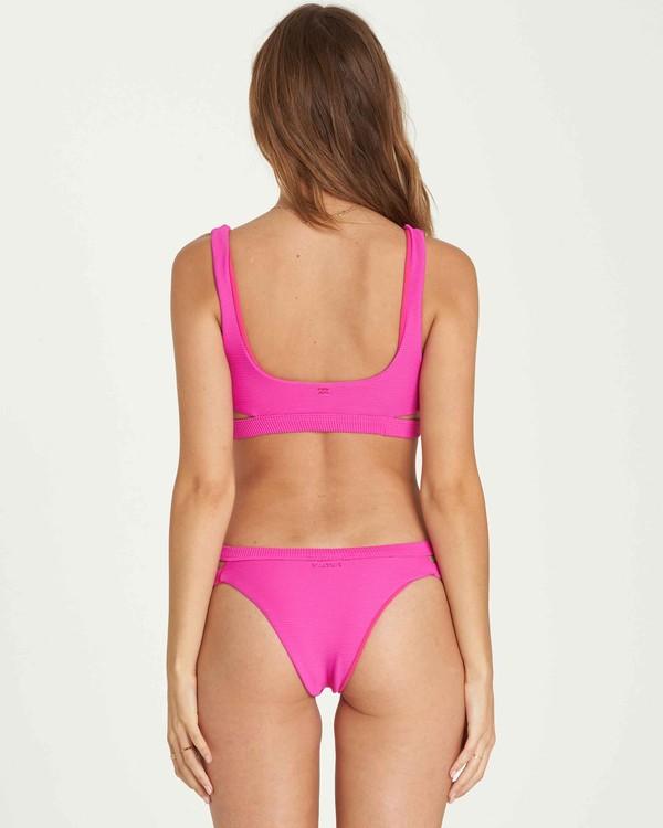 0 Tanlines Isla Bikini Bottom Pink XB10PBTA Billabong
