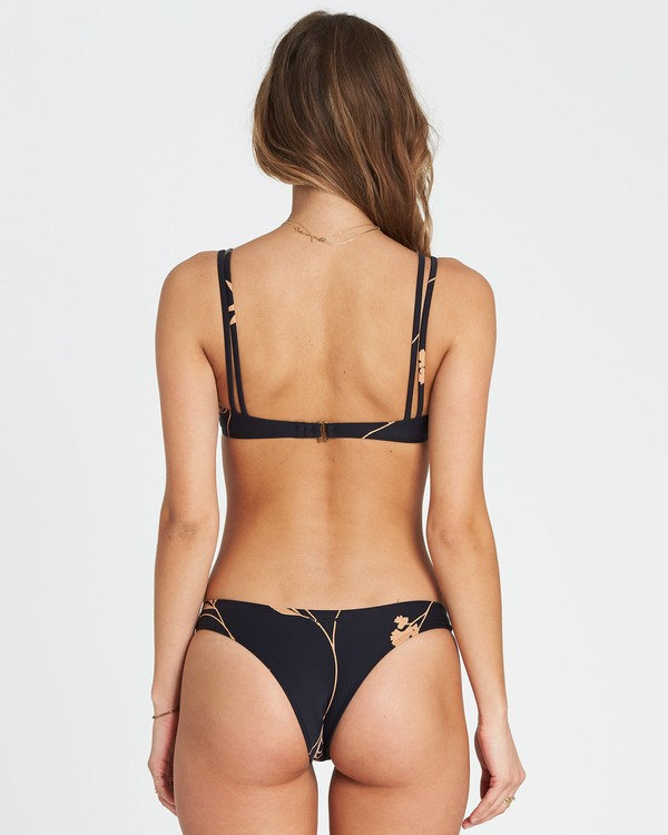 0 Sweet Roots Isla Bikini Bottom Black XB10SBSW Billabong