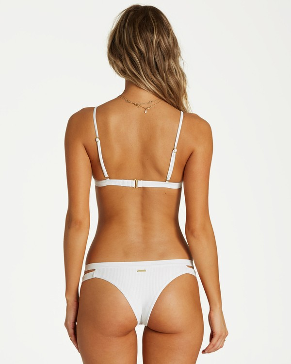 0 Too Salty Isla Bikini Bottom White XB11VBTO Billabong