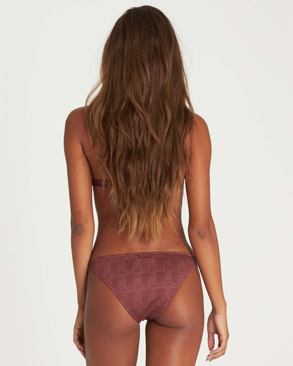 0 Way To Love Tropic Bikini Bottom Purple XB12NBWA Billabong