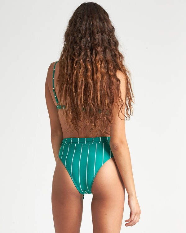 0 Emerald Bay Rise Pant Bikini Bottom Blue XB141BEM Billabong