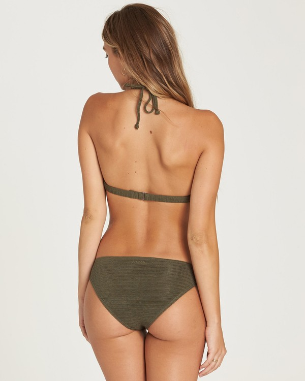 0 No Hurry Lowrider Bikini Bottom Green XB20QBNO Billabong
