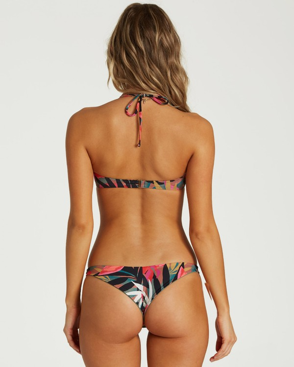 0 Tropic Nights Tanga Bikini Bottom Black XB21VBTR Billabong