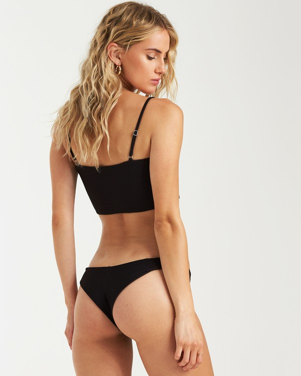 0 Tanlines Tanga Bikini Bottom Black XB23VBTA Billabong