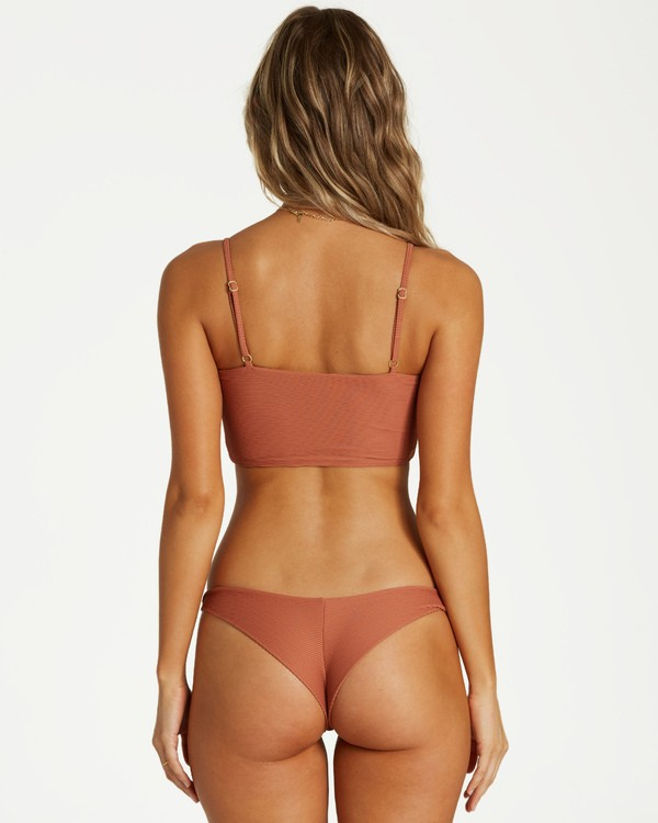 0 Tanlines Tanga Bikini Bottom Brown XB23VBTA Billabong