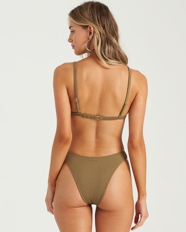 0 Sand Dunes Hike Bikini Bottom Green XB263BSA Billabong