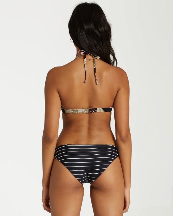 0 Under Palms Lowrider Bikini Bottom Black XB27VBUN Billabong