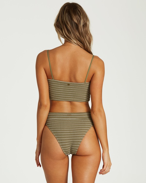 0 Summer High Maui Bikini Bottom Green XB33VBSU Billabong