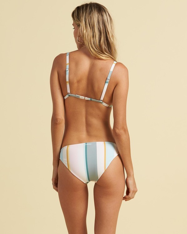 0 Salty Blonde Feelin Salty Lowrider Bikini Bottom Grey XB343BFE Billabong
