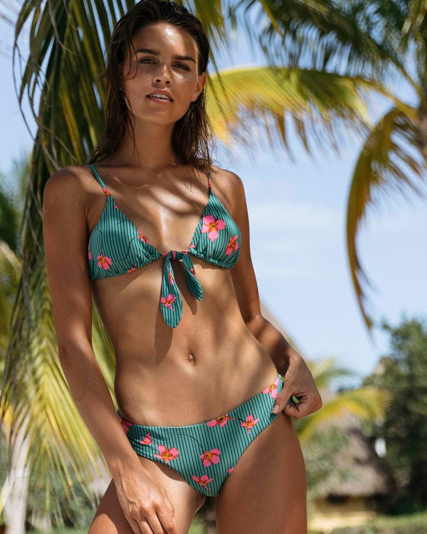 0 Seain Green Hawaii Lo Bikini Bottom Blue XB34TBSE Billabong