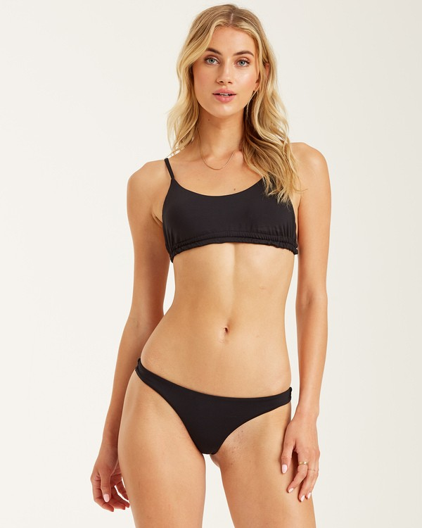 0 Sol Searcher Tanga Bikini Bottom Black XB52JSOL Billabong