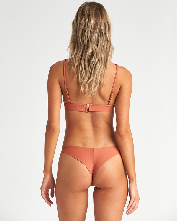 0 Sol Searcher Tanga Bikini Bottom Red XB52JSOL Billabong