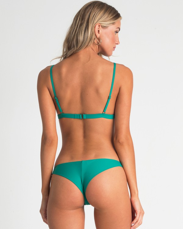 0 Sol Searcher Tanga Bikini Bottom Blue XB52UBSO Billabong