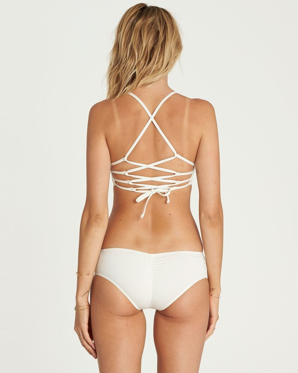 0 Bright One Hawaii Bikini Bottom White XB54NBBR Billabong