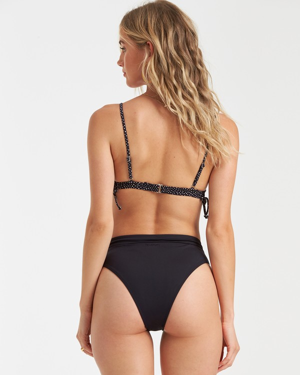0 Sol Searcher Rise High-Waisted Bikini Bottom Black XB56TBSO Billabong
