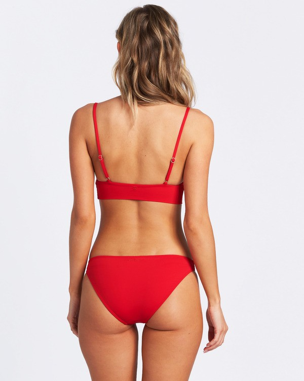 0 Sol Searcher Lowrider Bikini Bottom Red XB692BSO Billabong